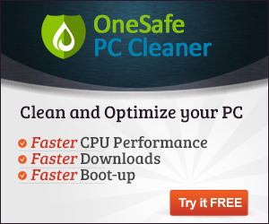 OneSafe PC Cleaner in regards to bandwidth